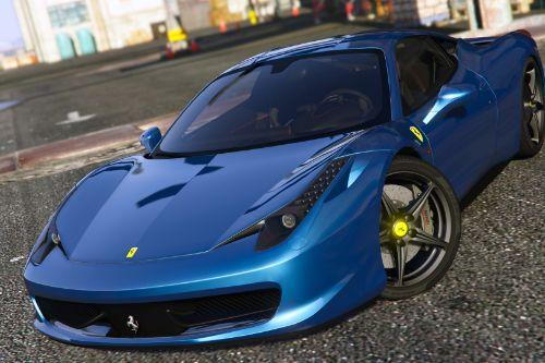 Ferrari 458 Italia AUTOVISTA [Add-On / Replace | Tuning | Template]